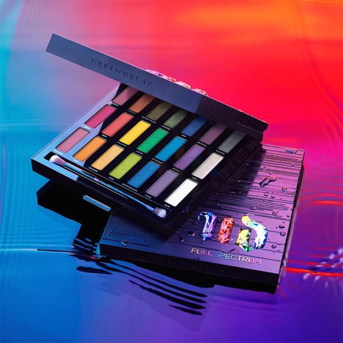 paleta de sombras de colores