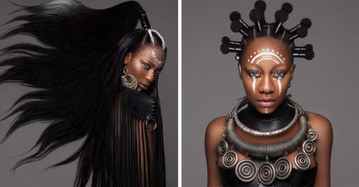 Este fue el homenaje a la cultura africana en los premios Británicos de cabello