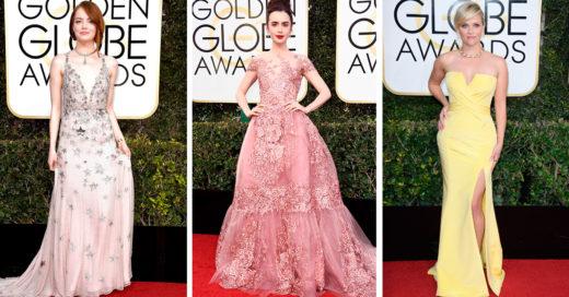 21 estrellas que lograron el look perfecto en los 'Golden Globe' 2017