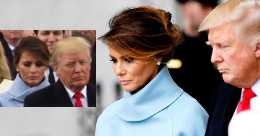 Expertas estudian el tenso lenguaje corporal de Melania Trump; no podrás creer lo que revela