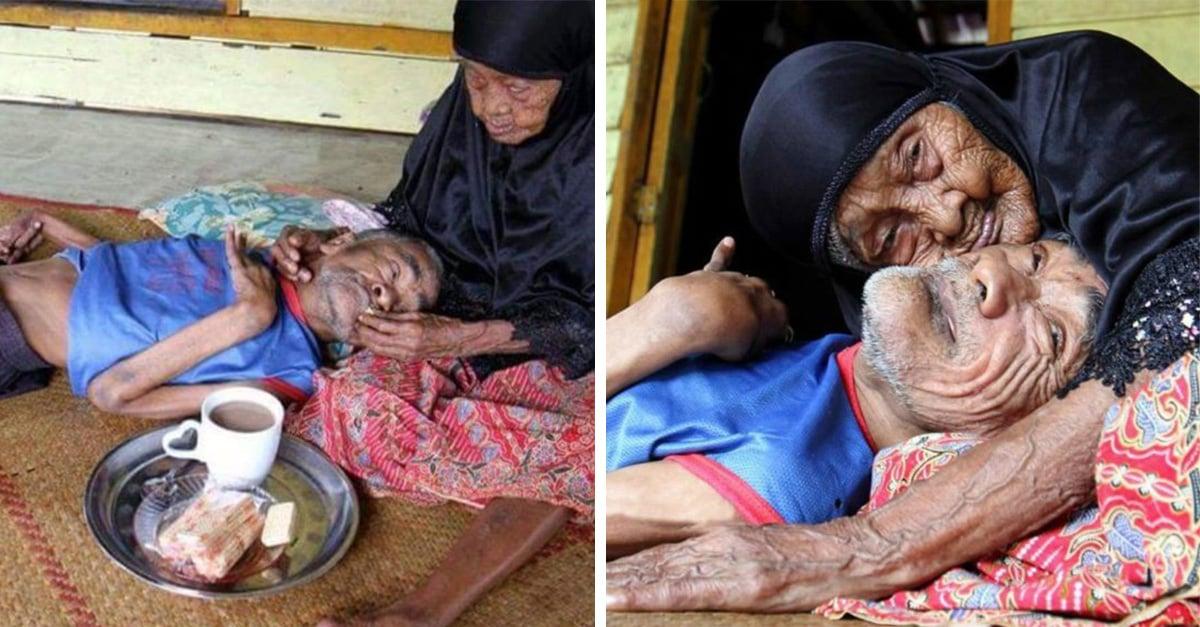 Esta mujer de 101 años cuidó a su hijo con capacidades diferentes durante 63 años