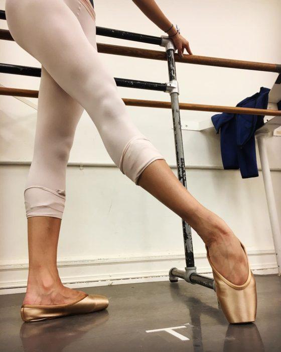 Zapatillas de ballet nude