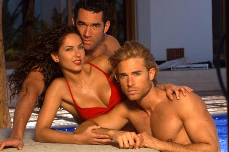 Escena de la telenovela rubí