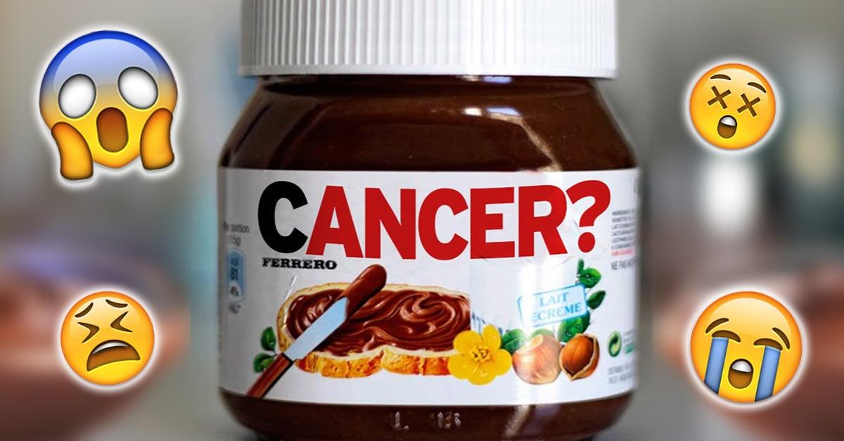 La noticia más triste del mundo: la Nutella podría causar cáncer