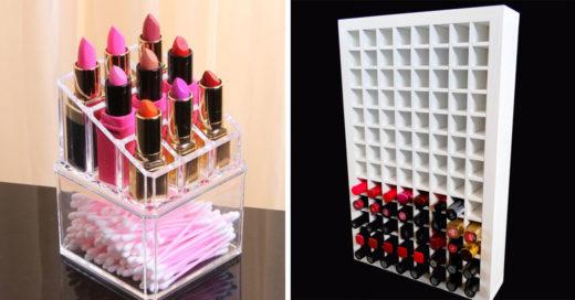 15 organizadores que tu colección de labiales para no volver a perder unos solo de ellos