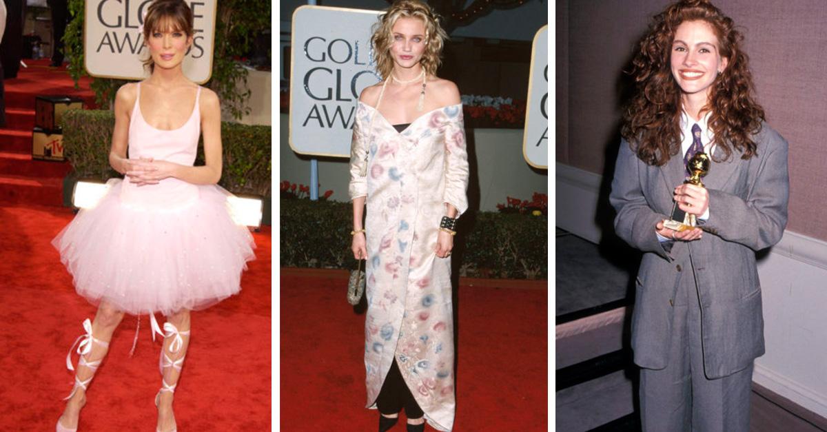 15 celebridades que peores looks en la historia de los Golden Globes