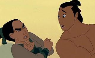 Escena de la pelicula Mulan