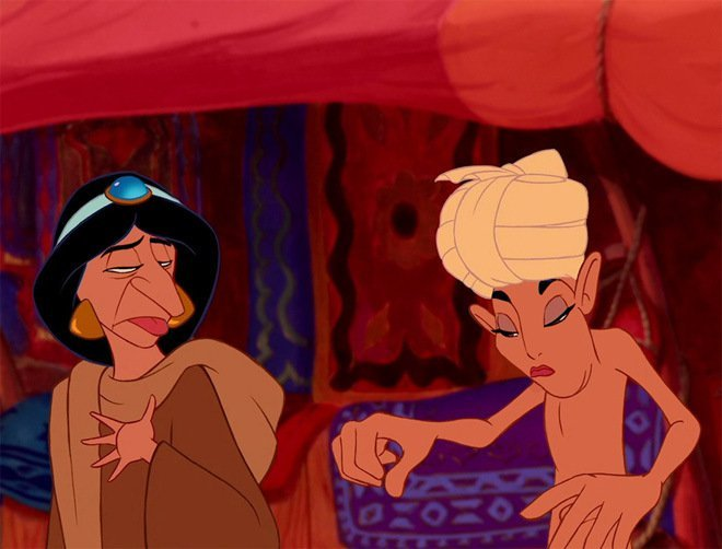 Aladin y Jazmín
