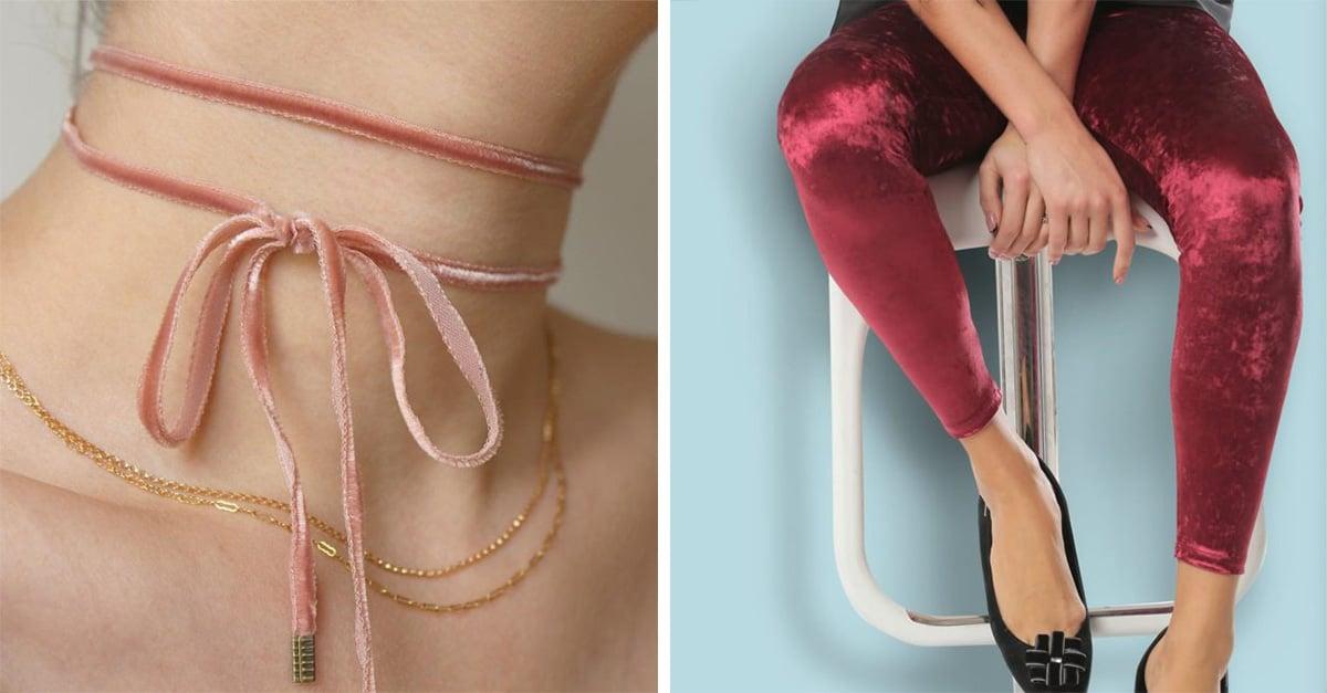 20 piezas en terciopelo para llenar tu clóset de suavidad y brillo con la tendencia 'Velvet'