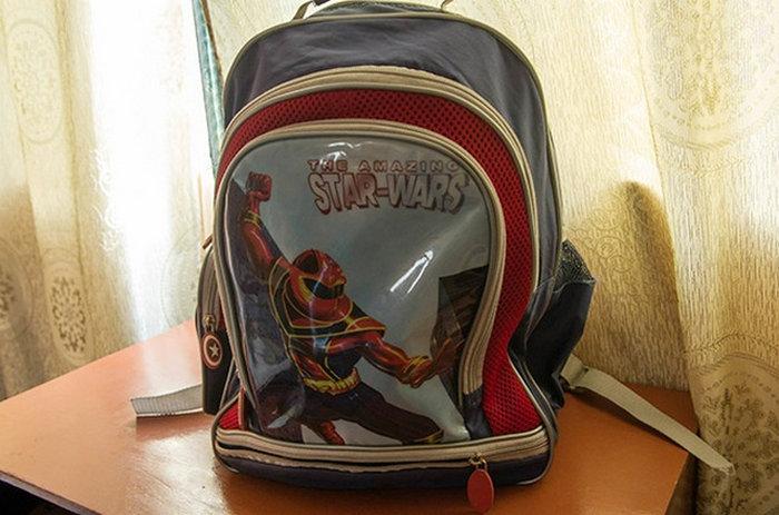 mochila de vengadores