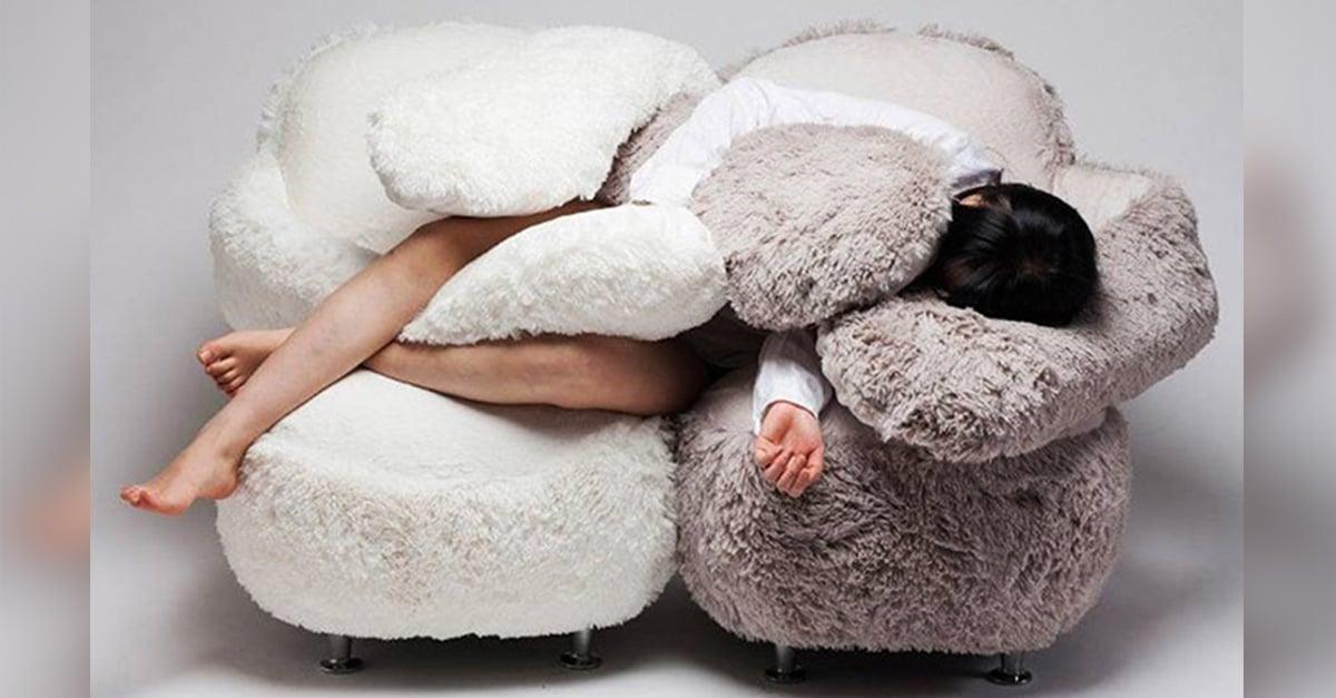 Con este sofá ¡jamás te sentirás sola de nuevo!