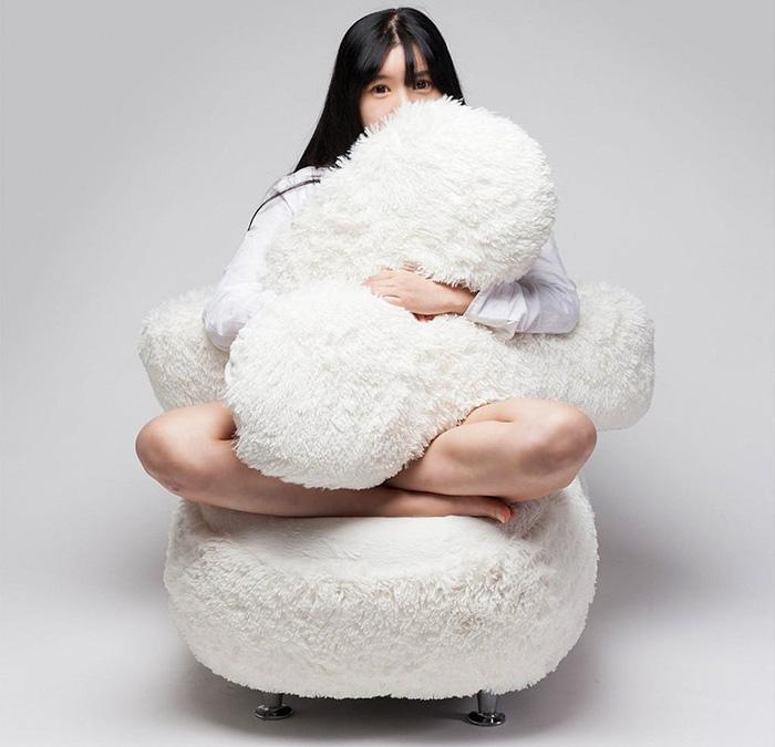 Sofá diseñado para abrazarte