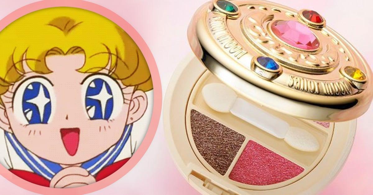 Siéntete la 'Sailor Scout' más bella con estas sombras para ojos de 'Sailor Moon'