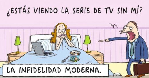 Caricaturas sarcásticas que muestran la terrible realidad del mundo actual