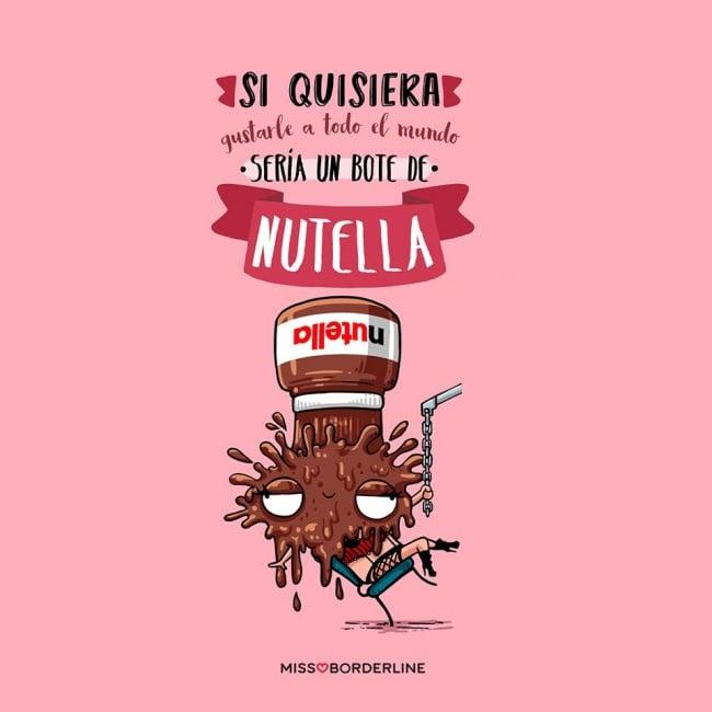 ilustracion de nutella