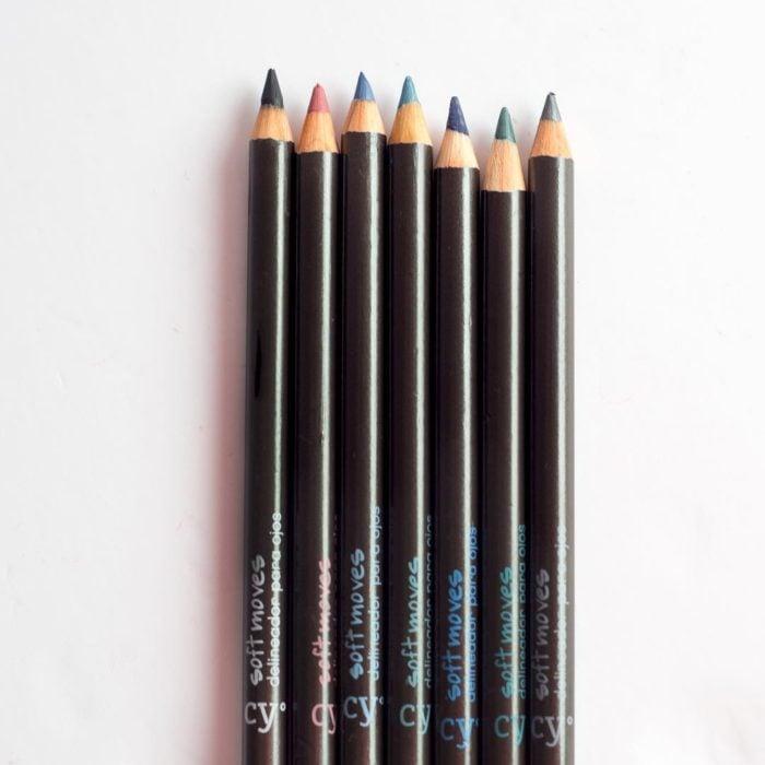 lápices delineadores de colores