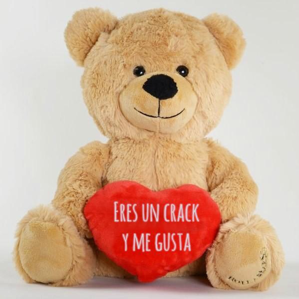 oso de peluche con corazón
