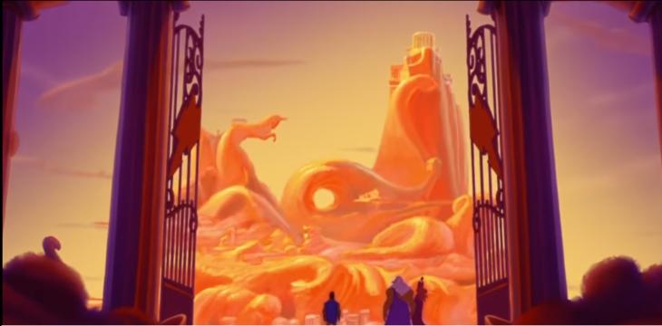 imagen animada de paraiso