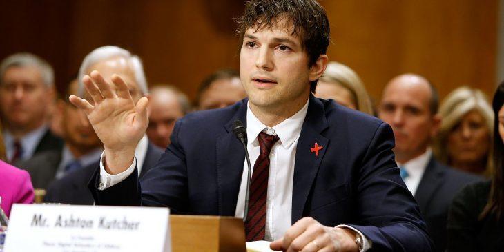 Ashton en en el senado