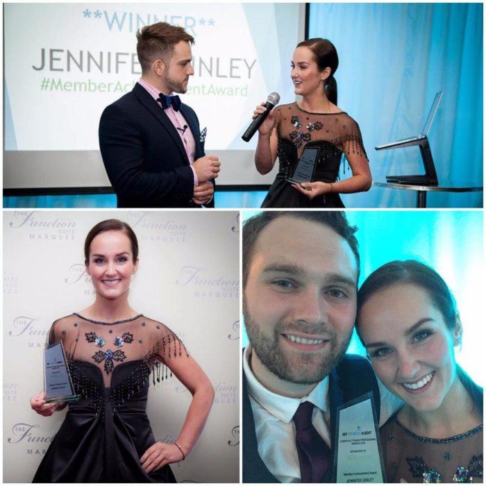 Jennifer gano el premio miss slinky