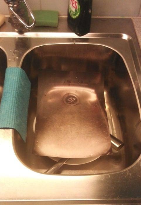 lavar trastes