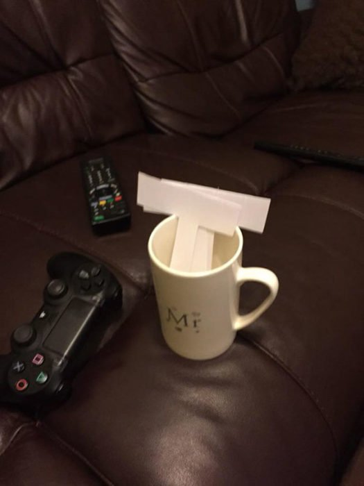 Ella pidio una taza de chocolatada y una feliz navidad - 3 4