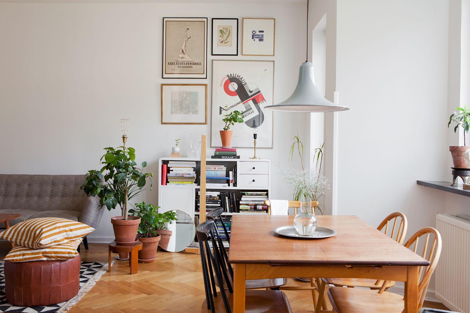 30 formas de usar plantas para decorar espacios de tu casa Decoracion living comedor departamento