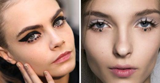Adiós cat eyeliner, bienvenido dot eyeliner