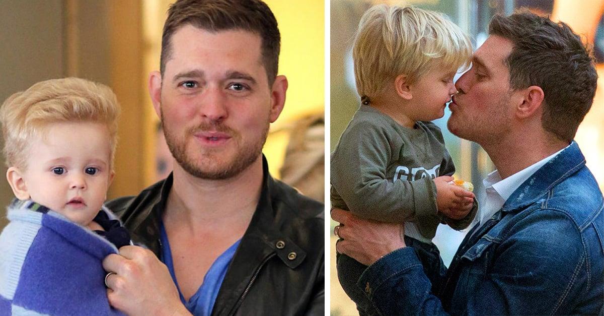 ¡Lo hizo! El hijo de Michael Bublé le ganó la batalla al cáncer