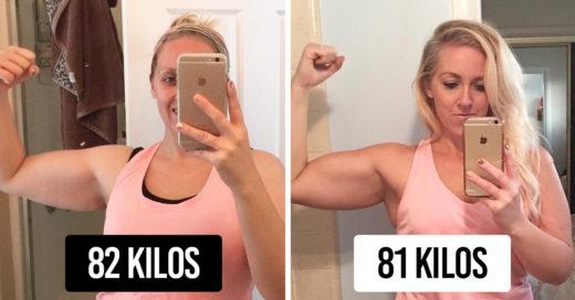 Esta mujer perdió una gran cantidad de tallas, su progreso es inspirador