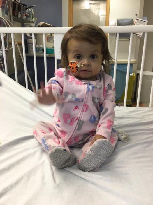 Talia en el hospital
