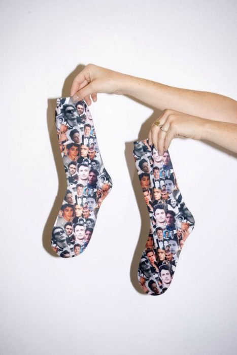 calcetas con cara de james franco