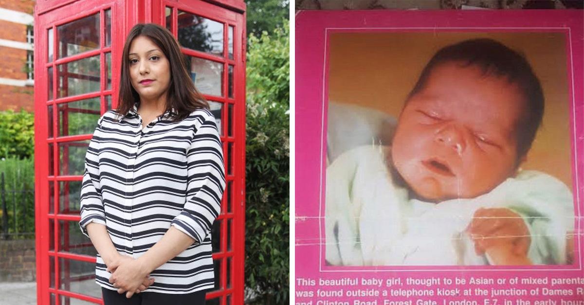 La abandonaron en una cabina telefónica, 22 años después conoce a quien la rescató