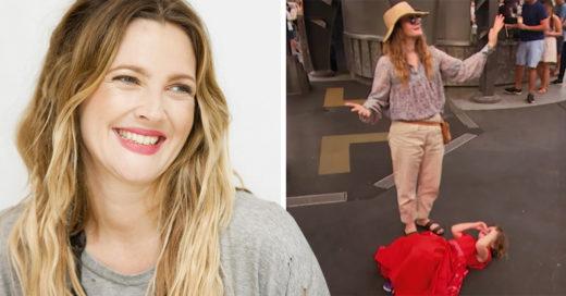 La reacción de Drew Barrymore ante las rabietas de sus hijas no tiene comparación