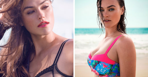 "Conoce a Myla Dalbesio, una modelo ""talla grande"" de Sports Illustrated"