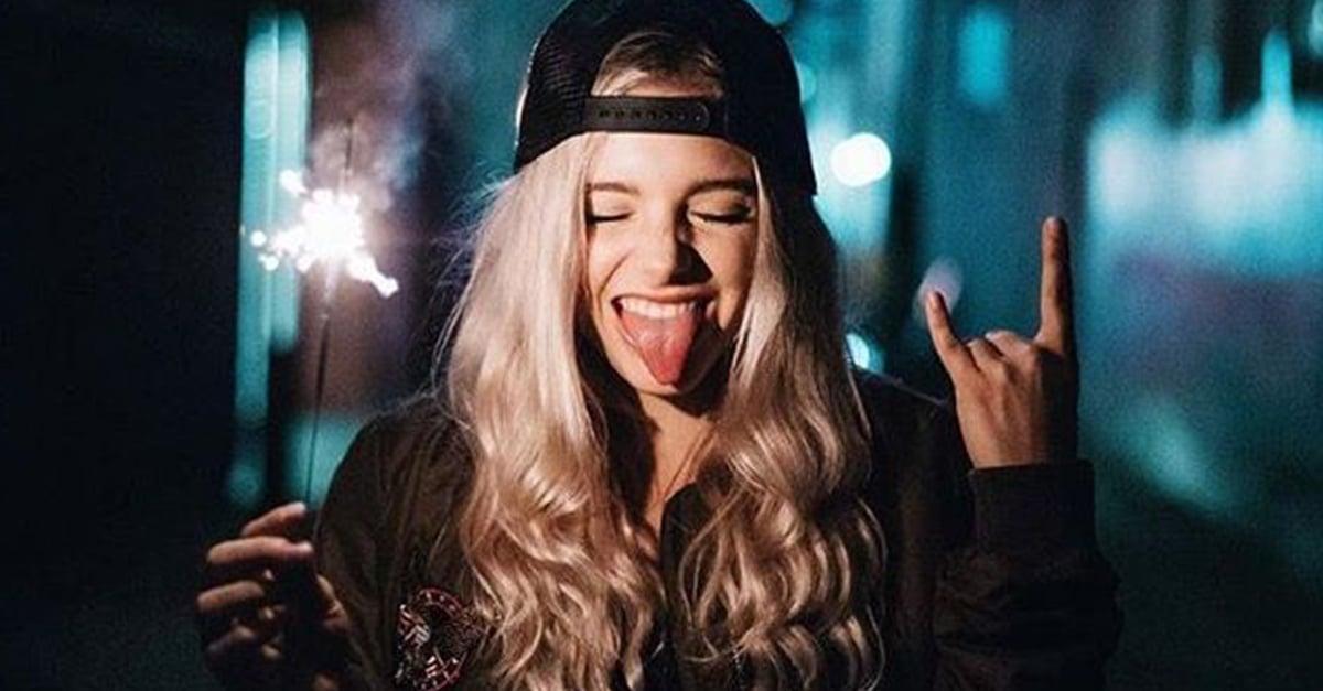 No importa que me digan loca, si así soy feliz