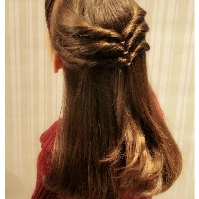 20 Peinados Originales Para Que Tu Hija Sea Una Princesa