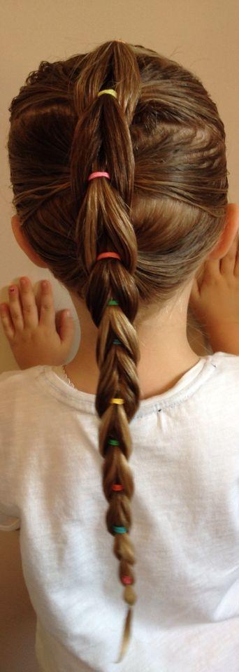 20 Peinados Originales Para Que Tu Hija Sea Una Princesa - Ver-peinados-para-nia