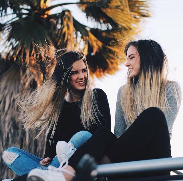 Chicas riendo