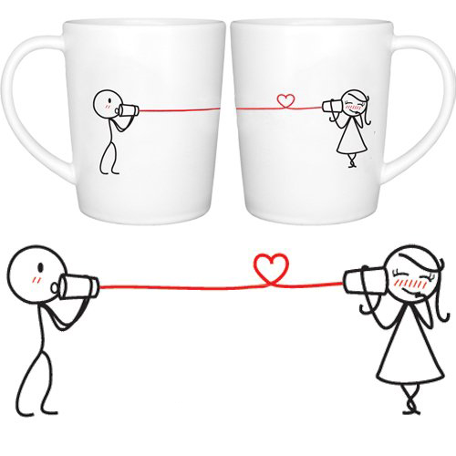 Tazas para compartir café