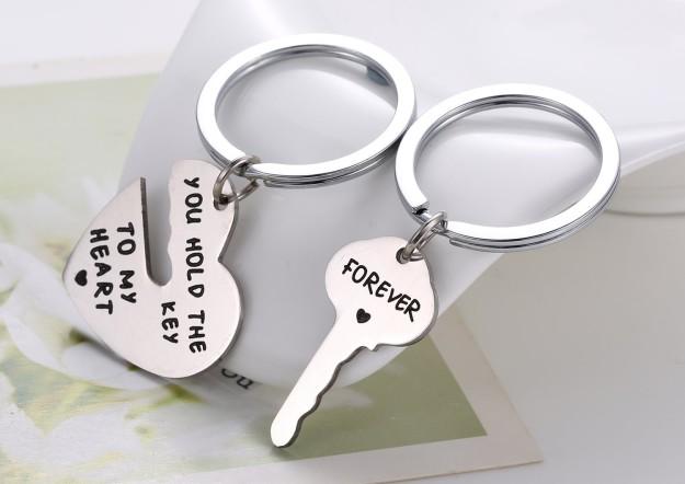 Llaveros para compartir con tu pareja