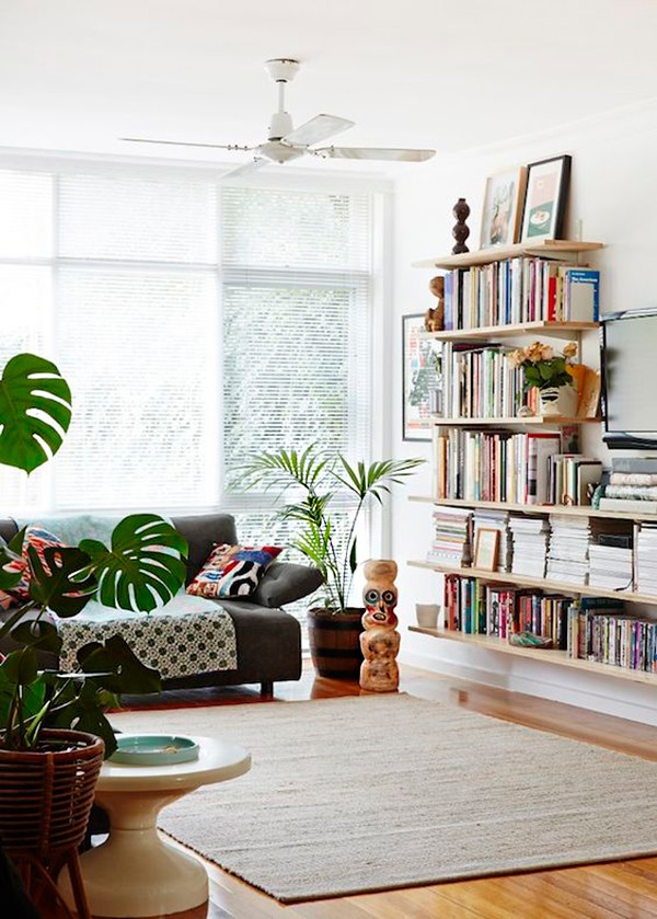 30 formas de usar plantas para decorar espacios de tu casa for Decoracion con plantas en living