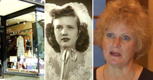 Se reencontró con la foto de bodas de su madre en una tienda de antigüedades: su historia te hará creer en el destino