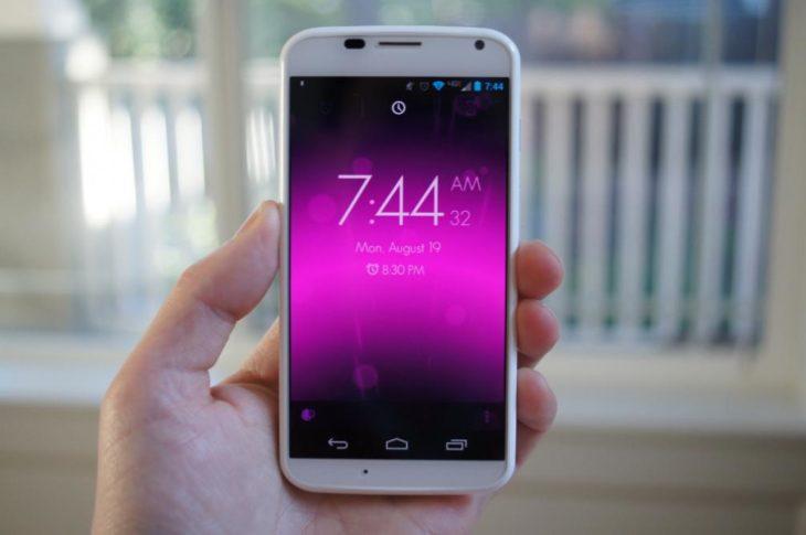Alarma en el celular