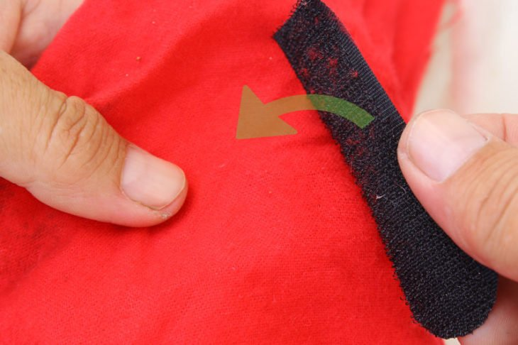 Velcro para eliminar pelusas