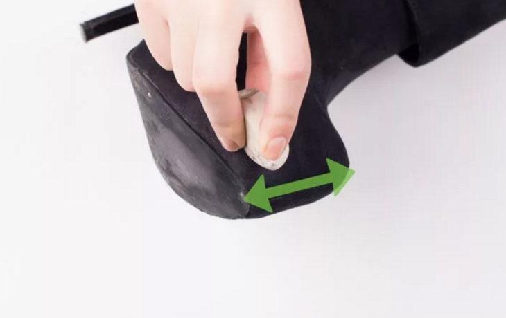 remover manchas con una goma