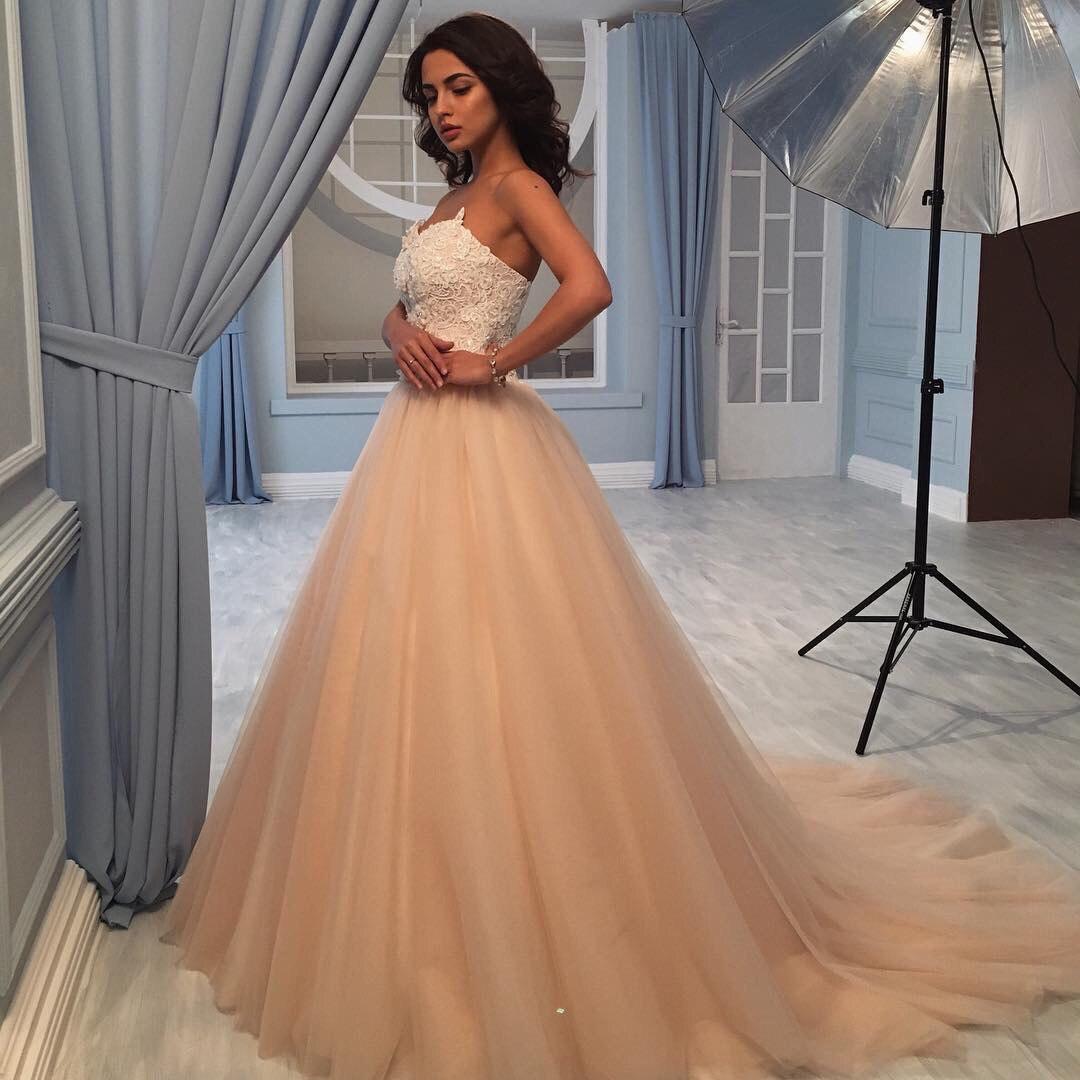 El color nude es perfecto para tu vestido de novia