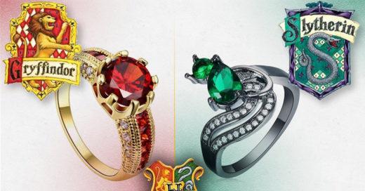 Hermosos anillos inspirados en la saga de Harry Potter que todo fan debe poseer