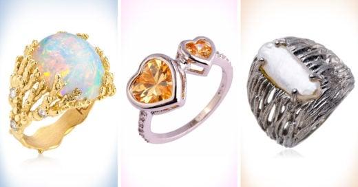20 increíbles anillos de compromiso poco tradicionales que te enamorarán