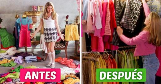 6 Consejos que te ayudarán a limpiar tu armario antes de la primavera